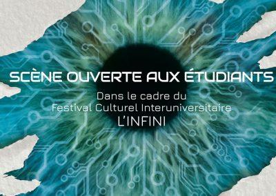 Affiche du Festival L'Infini