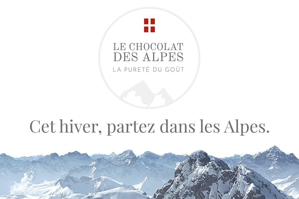 Couverture du projet Chocolat des Alpes dirigé artistiquement par Diane Gaillard