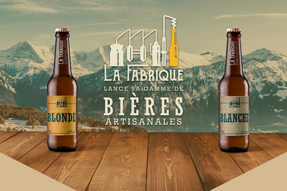 Couverture pour le projet La Fabrique Bières artisanales - Diane Gaillard