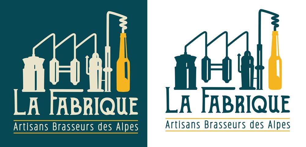 Logo pour le projet La Fabrique Bières artisanales - Diane Gaillard