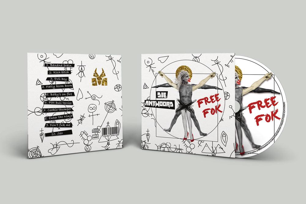 Album et CD Die Antwoord Projet Diane Gaillard