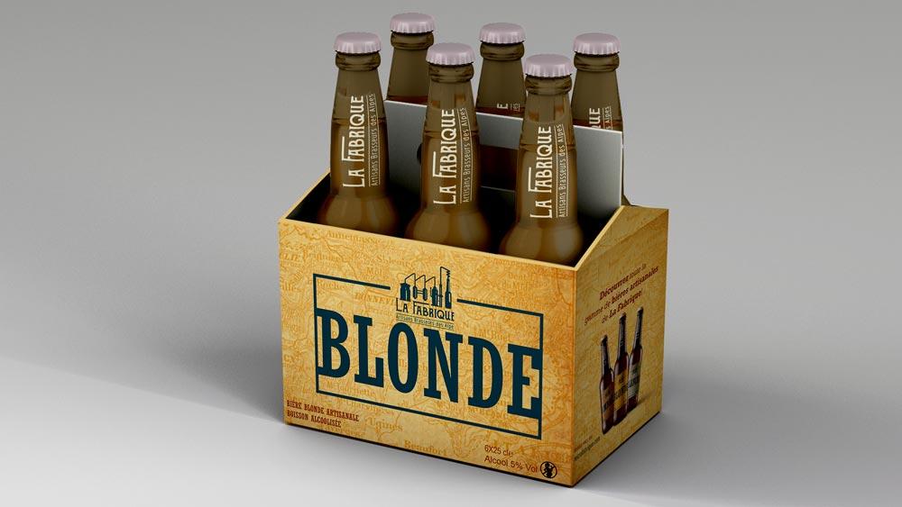 Pack bières pour le projet La Fabrique Bières artisanales - Diane Gaillard