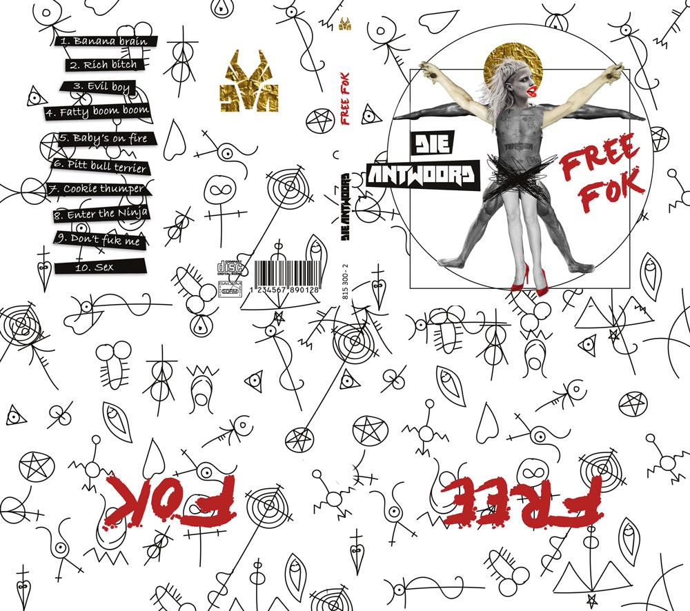 Pochette d'album pour le groupe Die Antwoord - Diane Gaillard