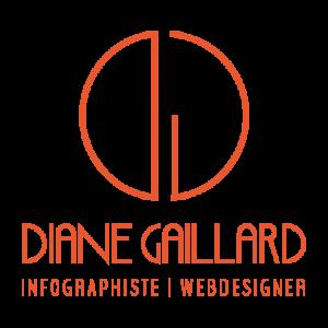 Logo de Diane Gaillard, Infographiste et webdesigner à Grenoble