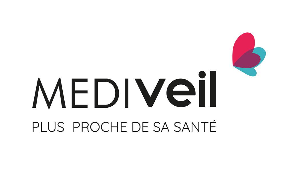 Logo et identité de marque Mediveil - Projet Diane Gaillard