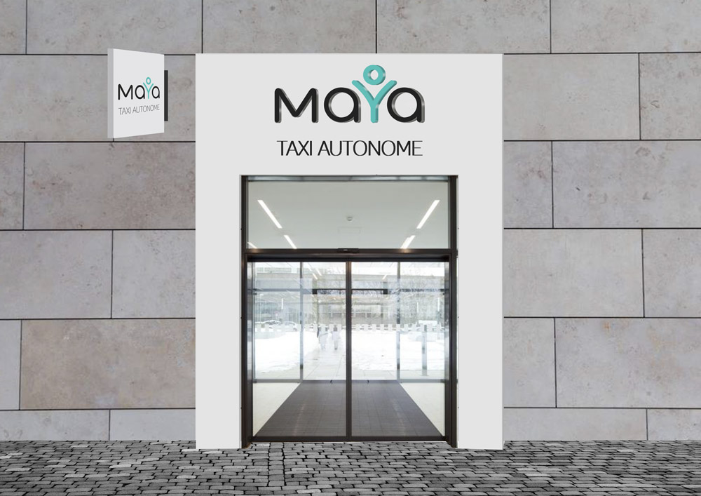 Design de façade Maya - graphiste Diane Gaillard
